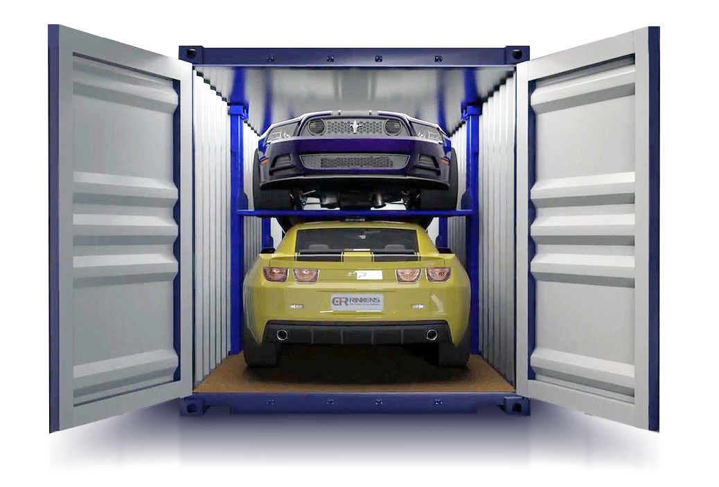 Car Shipping from USA to UK via Container CFR Rinkens