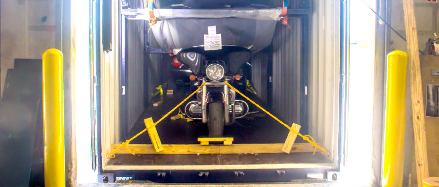 How to Ship a Motorcycle