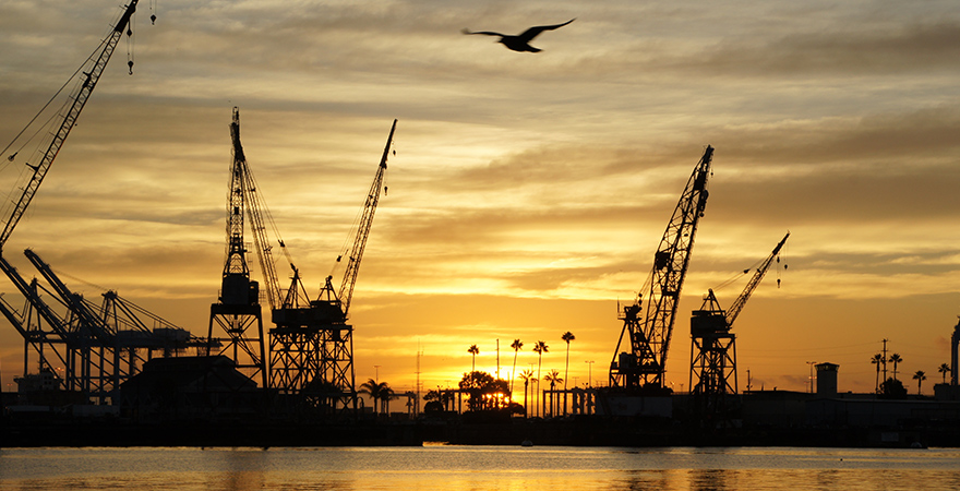 Port of Los Angeles records busiest January in port's 110- year history