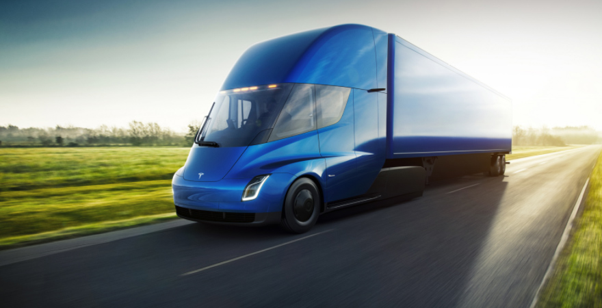 CFR Rinkens Reserves Five Tesla Semi Trucks