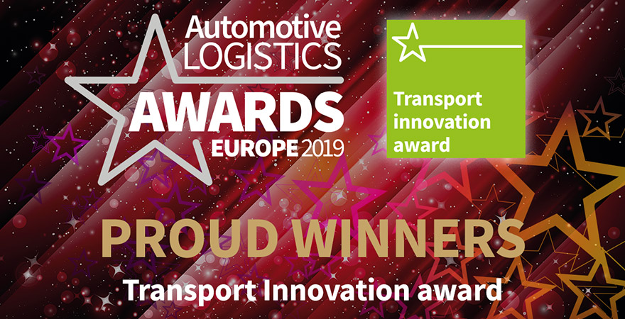 CFR Awarded Transport Innovation Award